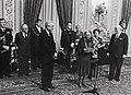 Mimma Mondadori con Francesco Cossiga e Giovanni Spadolini archivi Mondadori AA207430.jpg