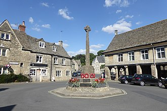 Minchinhampton - The Minchinhampton war memorial