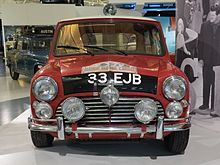1964 Monte Carlo Rally Winner 1963 Morris Mini Cooper S