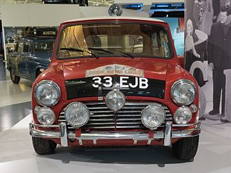 Monte Carlo Rally - 1964 outright winning Morris-Mini Cooper S