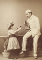 Minnie Terry as Mignon and C.W. Garthorne as Captain Lucy in Bootles' Baby.png