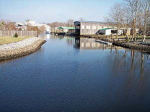 Mispillion River - The Mispillion River in Milford in 2006
