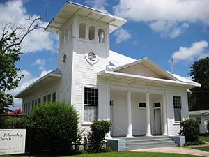 Buda, Texas - Image: Mission Fellowship Church Buda