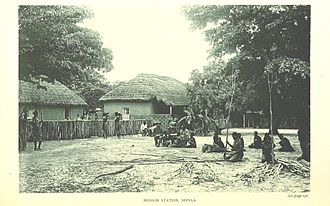 François Coillard - Image: Mission at Sefula Image taken from page 161 of 'Reality versus Romance in South Central Africa