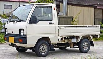 Mitsubishi Minicab - Minicab Super Deluxe truck (U11T)