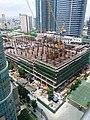 Mitsukoshi Mall under construction.jpg
