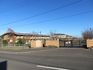 Miyagi Prefectural support school Iwanuma High School 1.jpg