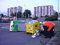 Modřany, kontejnery v ul. K Vltavě, Pejevové a Botevova.jpg