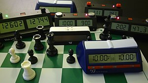 Chess clock - Modern day chess clocks.