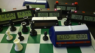 Chess - Modern chess clocks