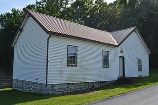 Moffetts Creek Schoolhouse place in Virginia listed on National Register of Historic Places