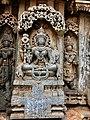 Mohini avatar Vishnu, 13th century Keshava temple Somanathpur.jpg