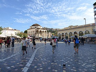 Monastiraki - Monastiraki square