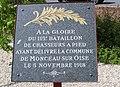 Monceau-sur-Oise Plaque libération.jpg