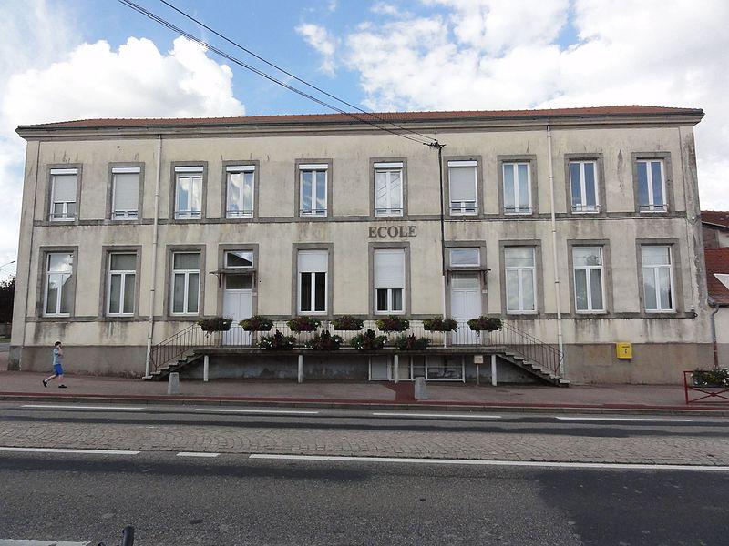 Moncel-lès-Lunéville (M-et-M) école