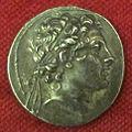 Monetiere di fi, moneta ellenistica antioco IV, 175-164 ac..JPG