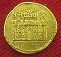 Monetiere di fi, moneta romana imperiale di traiano per costruz. del foro di traiano.JPG