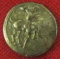 Monetiere di fi, moneta romana repubblicana con eracle e il toro 01.JPG