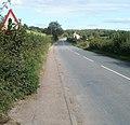 Monmouth Road leaves Usk - geograph.org.uk - 2094035.jpg