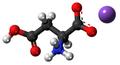 Monopotassium aspartate3D.png
