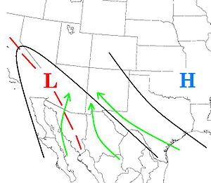 North American Monsoon - Weather pattern of the North American Monsoon