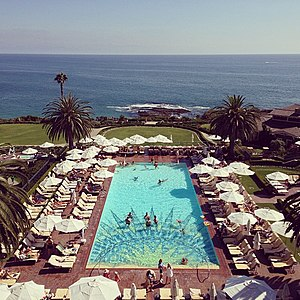 Montage Hotels & Resorts - View of the pool at Montage Laguna Beach.