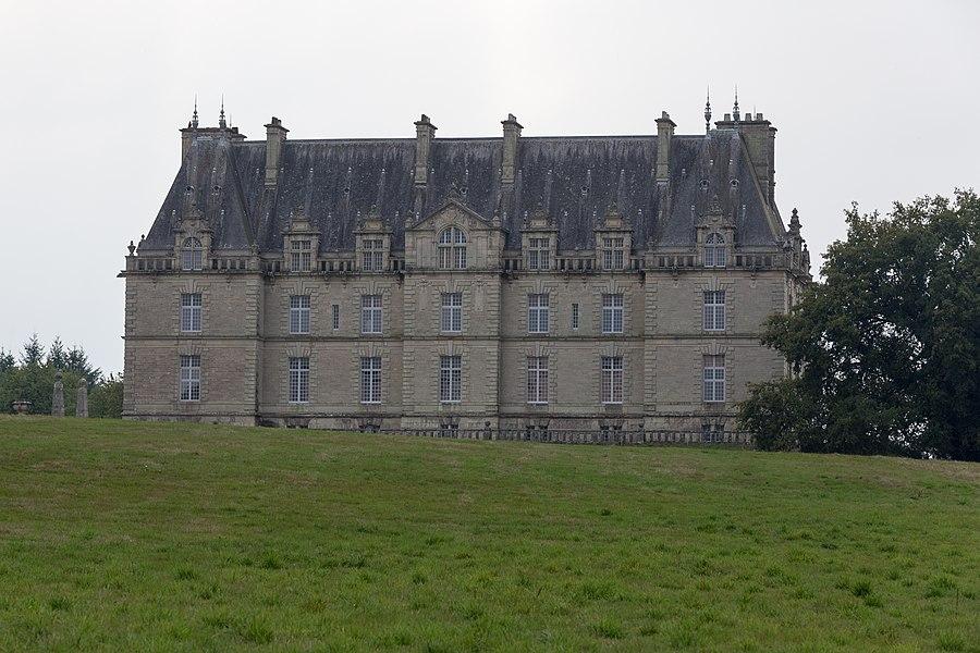 Château de la Grée de Callac: le logis.