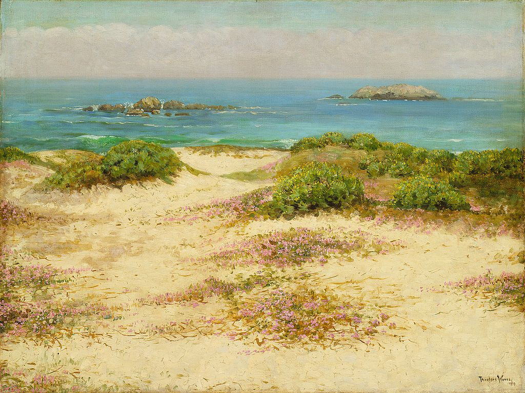 Monterey Coast: 17 Mile Drive, tableau de Theodore Wores au LACMA.