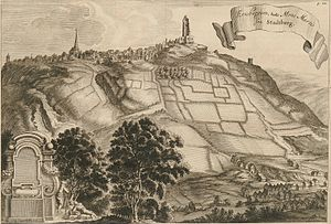Eresburg - Eresburg and Marsberg around 1670