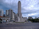Monument in downtown Rosario.