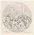 Moord op Julius Caesar Fatum Romanorum (titel op object) De ondergang van wereldrijken in de klassieke oudheid (serietitel), RP-P-OB-52.802.jpg