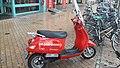 Moped of the fire brigade in Groningen 02.jpg