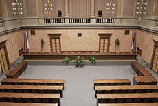 Moravian Provincial Diet - Assembly hall 04.jpg