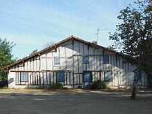 Maison landaise wikip dia - Maison peinte en gris ...