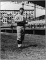 Mordecai Peter Centennial Brown, baseball player for the St. Louis Federals, full-length portrait, standing, facing slightly right, in uniform LCCN90707661.jpg