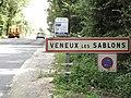 """Moret-Loing-et-Orvanne, entrée de Veneux-les-Sablons (2) panneau """"commune"""" enlevé 08-2017.jpg"""