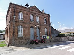 Morgny-en-Thiérache (Aisne) mairie.JPG