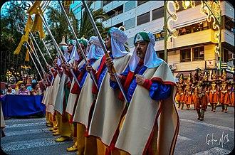 Moros y cristianos - Moros y Cristianos festival in Elda.