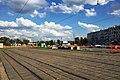 Moscow, Bulvar Rokossovskogo tram loop (31530456946).jpg