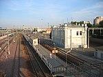 Железнодорожная станция Курского направления МЖД в городе Москва.  Время движения с Курского вокзала - 6 минут.