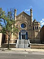 Most Worshipful Hiram Grand Lodge-Former Sharon Israel Synagogue, 2105-2107 McCulloh Street, Baltimore, MD 21217 (36966720781).jpg