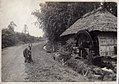 Mother and child near the watermill in Japan (1914 by Elstner Hilton).jpg