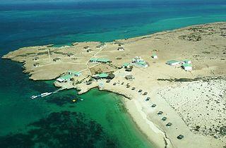 Moucha Island Coral island off the coast of Djibouti