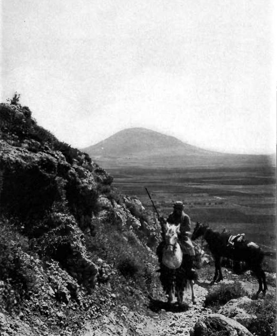 Mount tabor from mount carmel 1912