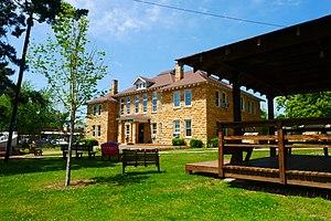 Mountain View, Arkansas - Image: Mountain View Courthouse