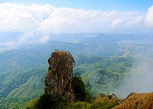 Mount Pico de Loro - At the summit of Mt. Pico de Loro is a monolith. Also known as the Parrot's beak.