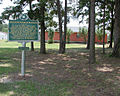 Mt. Zion Methodist Churchstate history marker in Neshoba County (alternate view).JPG