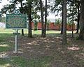 Mt. Zion Methodist Churchstate history marker in Neshoba County (alternate view).JPG
