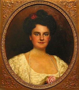 Adolfo Müller-Ury - Saidee Williams Overton (Sarah Gladys Cheeney Williams)