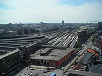 Munich Main Railway Station - aerial view.JPG